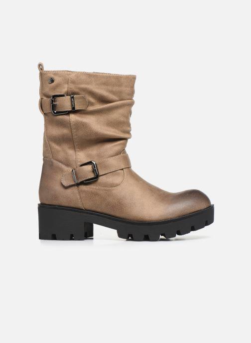 Boots en enkellaarsjes MTNG SAURO 58233 Beige achterkant