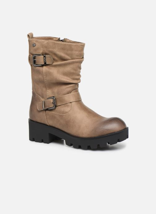 Bottines et boots MTNG SAURO 58233 Beige vue détail/paire