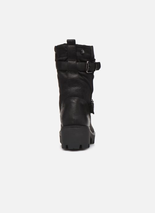 Boots en enkellaarsjes MTNG SAURO 58233 Zwart rechts