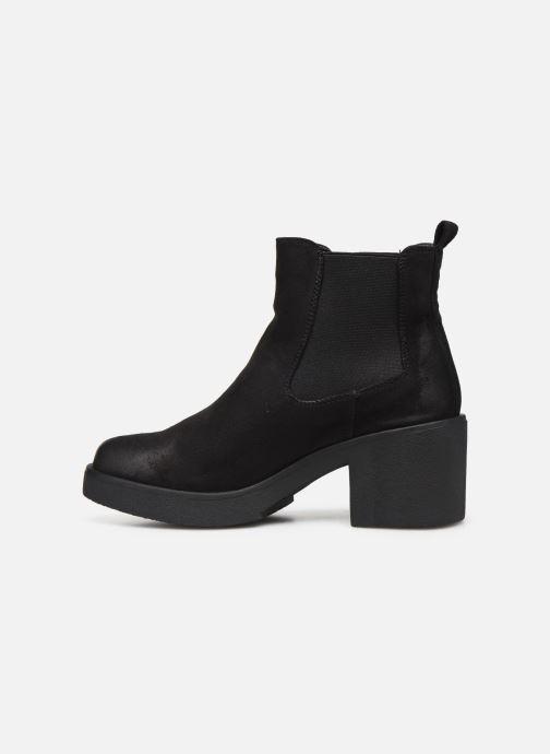 Boots en enkellaarsjes MTNG ERIS 58656 Zwart voorkant