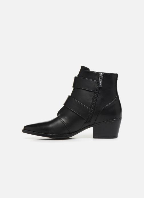 Boots en enkellaarsjes MTNG NEW OESTE Zwart voorkant