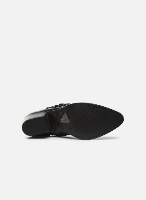 Bottines et boots MTNG NEW OESTE Noir vue haut