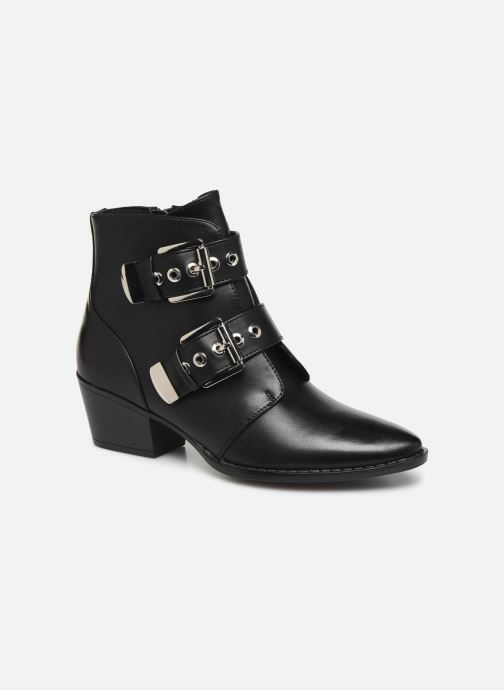 Boots en enkellaarsjes MTNG NEW OESTE Zwart detail