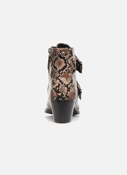 Boots en enkellaarsjes MTNG NEW OESTE Beige rechts