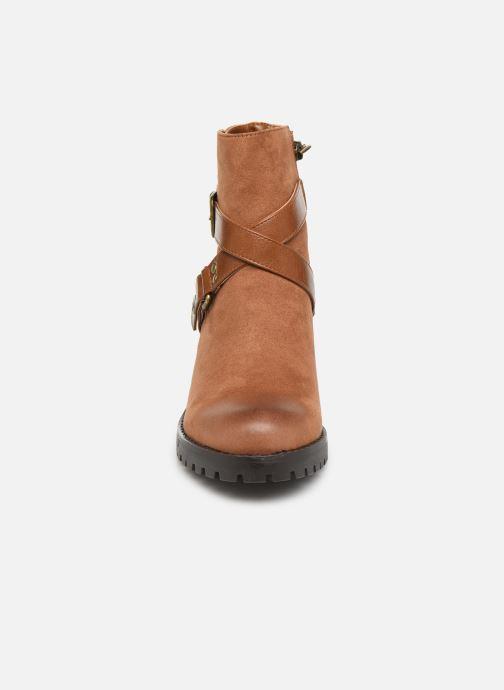 Bottines et boots MTNG MAYA 58641C Marron vue portées chaussures