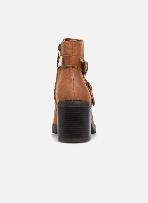 Boots en enkellaarsjes MTNG MAYA 58641C Bruin rechts