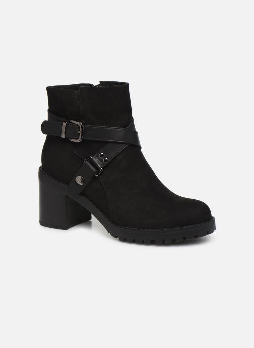 Boots en enkellaarsjes MTNG MAYA 58641B Zwart detail