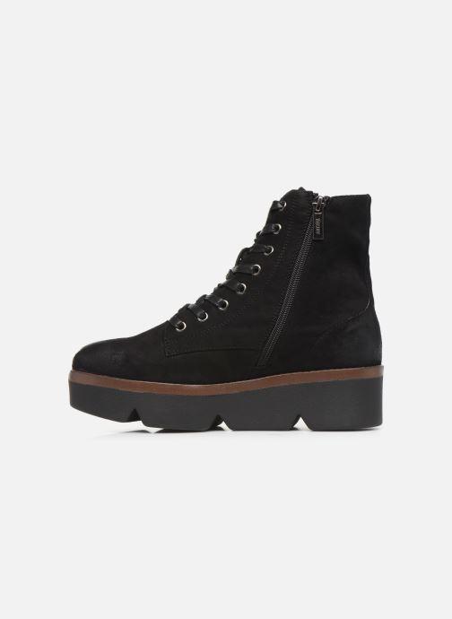 Boots en enkellaarsjes MTNG ARES Zwart voorkant