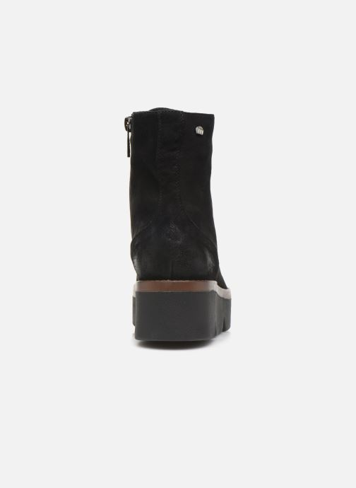 Boots en enkellaarsjes MTNG ARES Zwart rechts