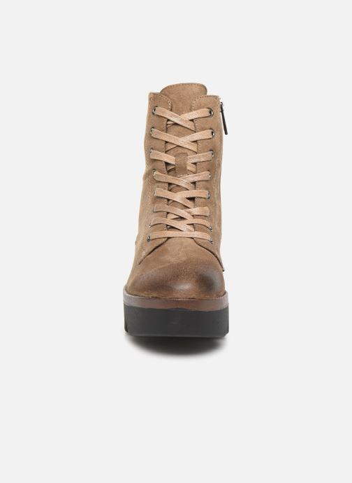 Boots en enkellaarsjes MTNG ARES Beige model