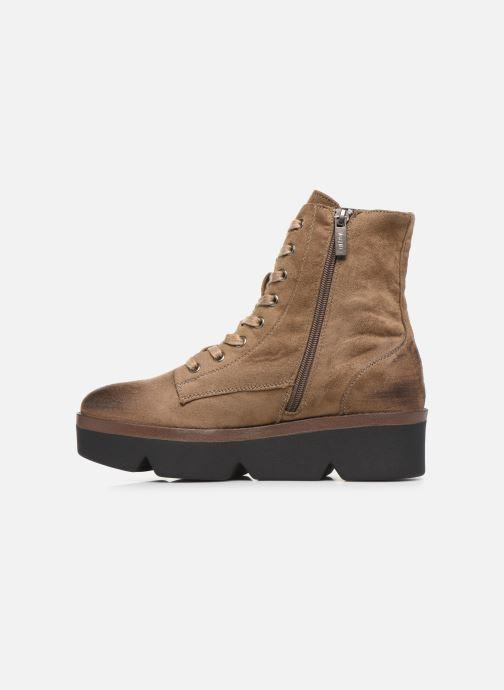 Bottines et boots MTNG ARES Beige vue face