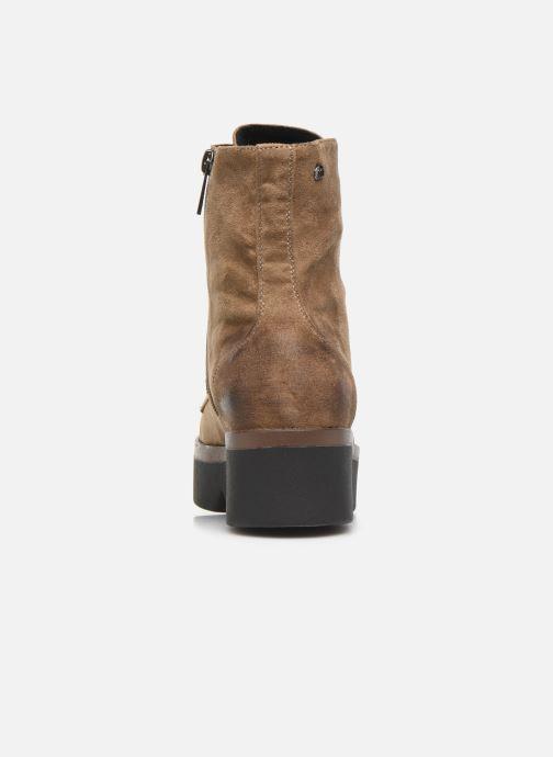 Bottines et boots MTNG ARES Beige vue droite