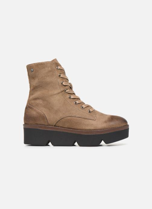 Boots en enkellaarsjes MTNG ARES Beige achterkant