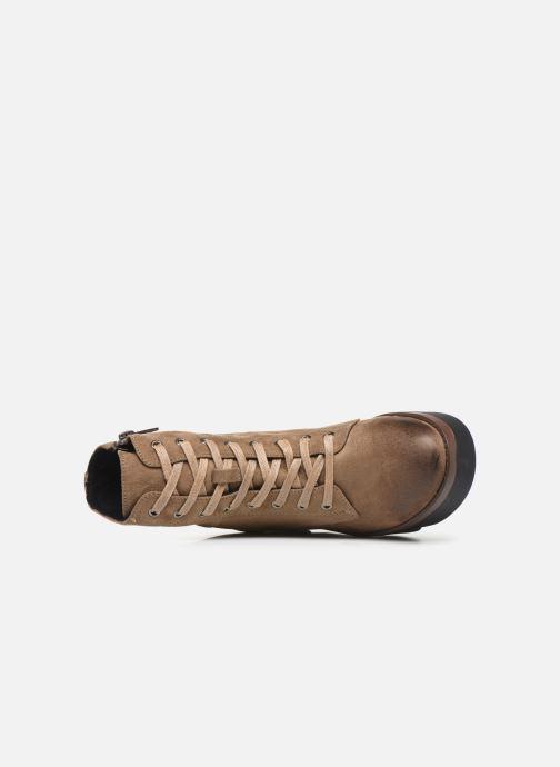 Bottines et boots MTNG ARES Beige vue gauche