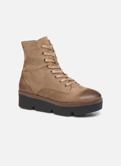 Boots en enkellaarsjes MTNG ARES Beige detail