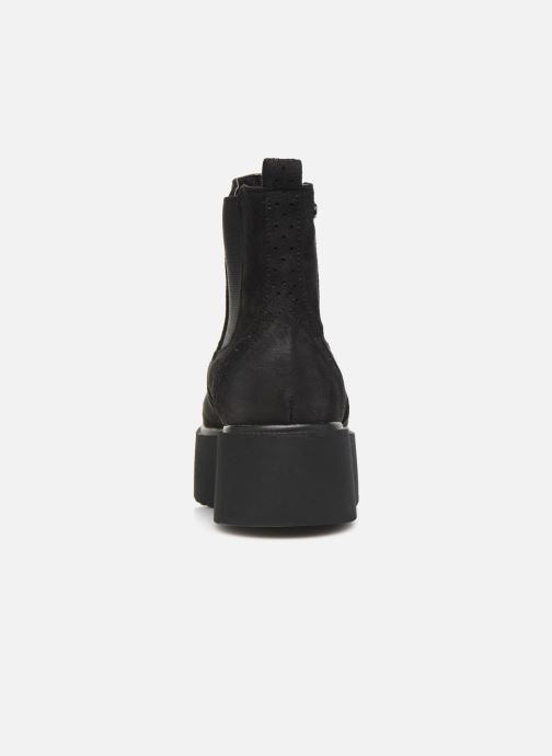 Boots en enkellaarsjes MTNG HIGHSCHOOL Zwart rechts