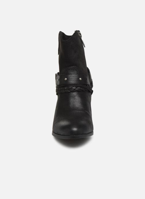 Bottines et boots MTNG PALAS Noir vue portées chaussures