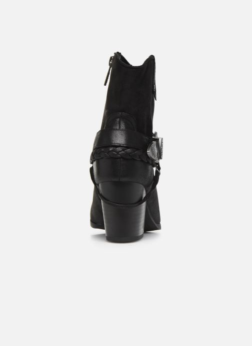 Ankle boots MTNG PALAS Black view from the right