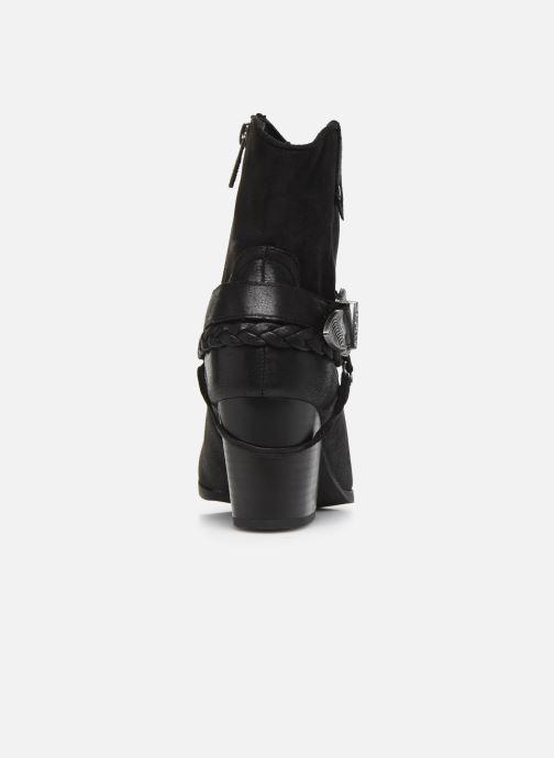 Boots en enkellaarsjes MTNG PALAS Zwart rechts