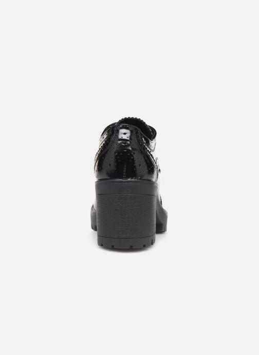 Zapatos con cordones MTNG CIRCE 58629 Negro vista lateral derecha