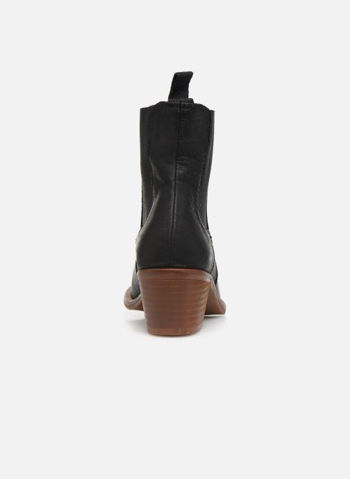 Bottines et boots MTNG WOOD-B Noir vue droite