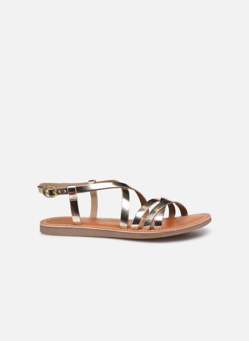 Sandals L'Atelier Tropézien Carla Bronze and Gold back view