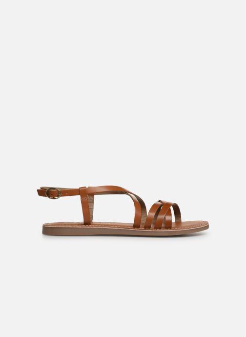 Sandales et nu-pieds L'Atelier Tropézien Carla Marron vue derrière