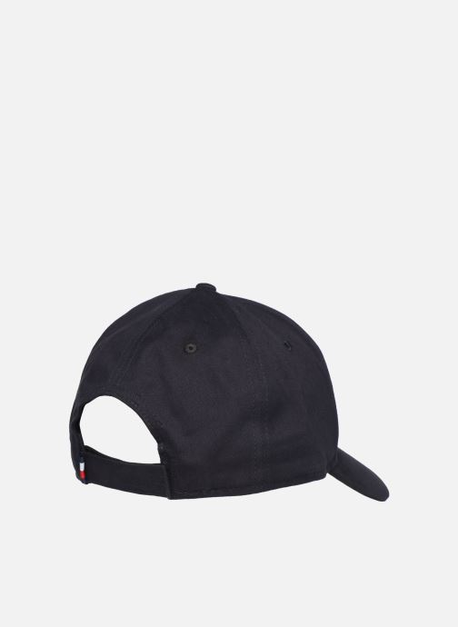 Pet Tommy Hilfiger TOMMY LEATHER PATCH CAP Blauw model