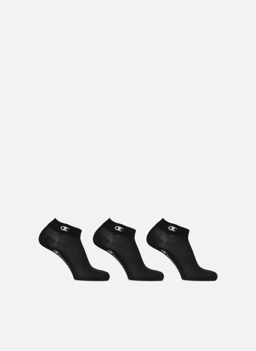 Chaussettes et collants Champion Chaussettes Courtes Mixtes Ankle Lot de 3 Noir vue détail/paire