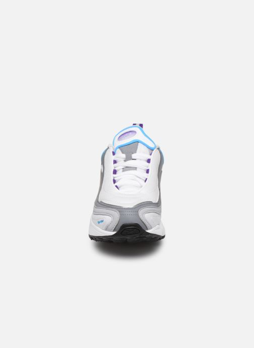 Reebok | DMX Series 2200 leather and mesh sneakers | NET A
