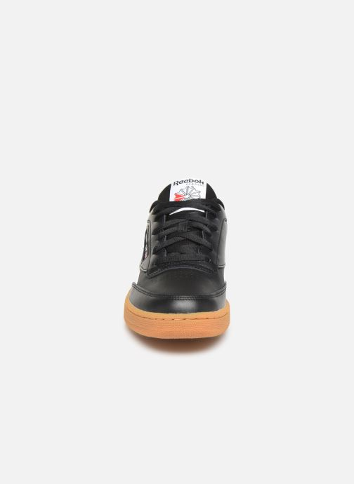 Sneaker Reebok Club C Revenge schwarz schuhe getragen