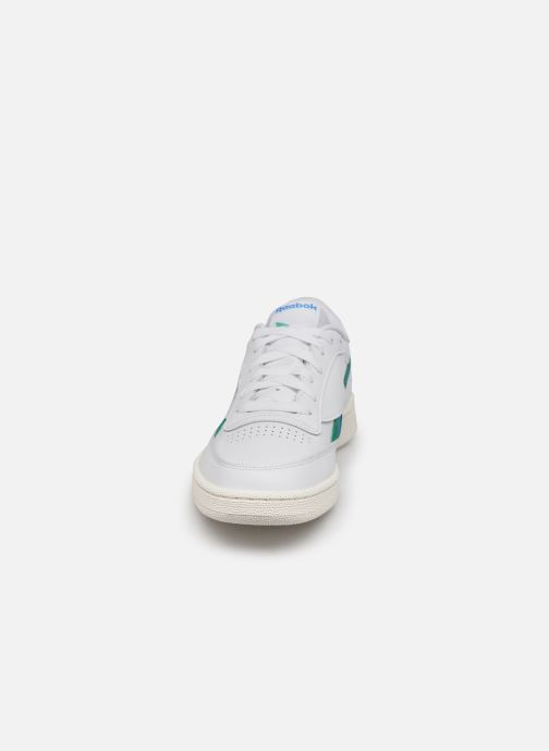 Sneakers Reebok Club C Revenge Bianco modello indossato