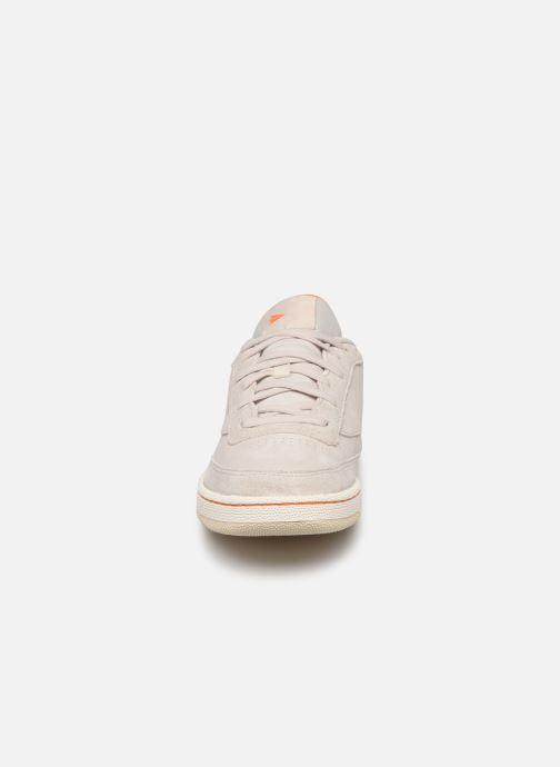 Baskets Reebok Club C Revenge Beige vue portées chaussures