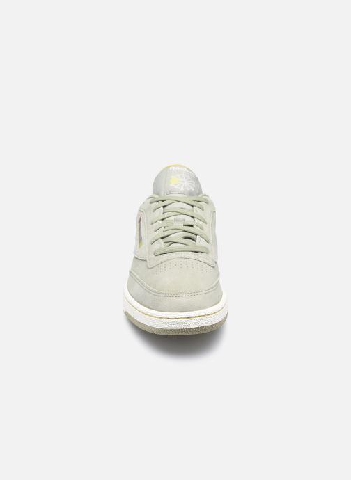 Sneaker Reebok Club C Revenge beige schuhe getragen