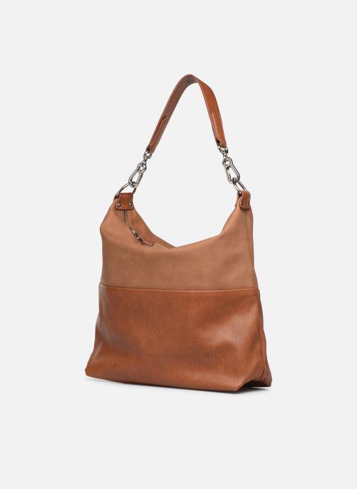 Handtassen Esprit Vivien hobo Bruin model