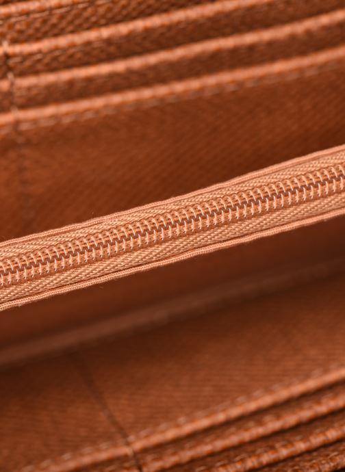 Kleine lederwaren Esprit Vivien wallet zip around Bruin achterkant