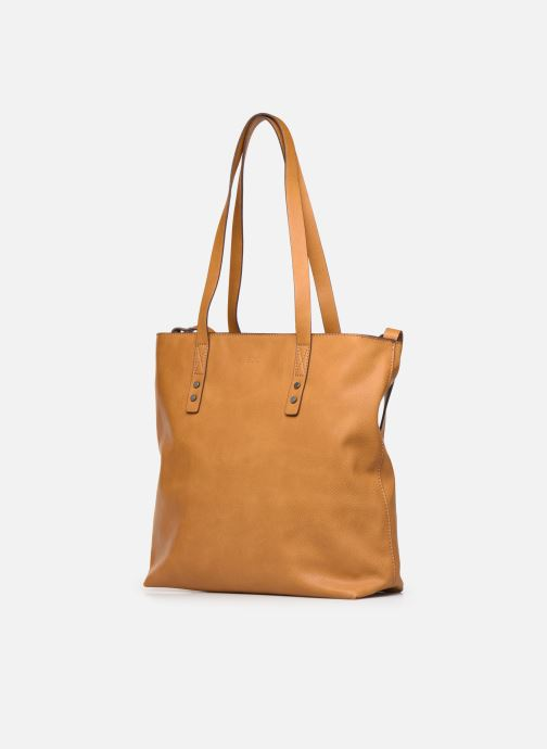 Handtassen Esprit Venia shopper Geel model