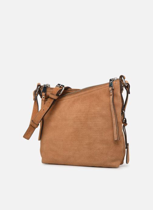 Handtassen Esprit Heidi leather smllshldb Bruin model