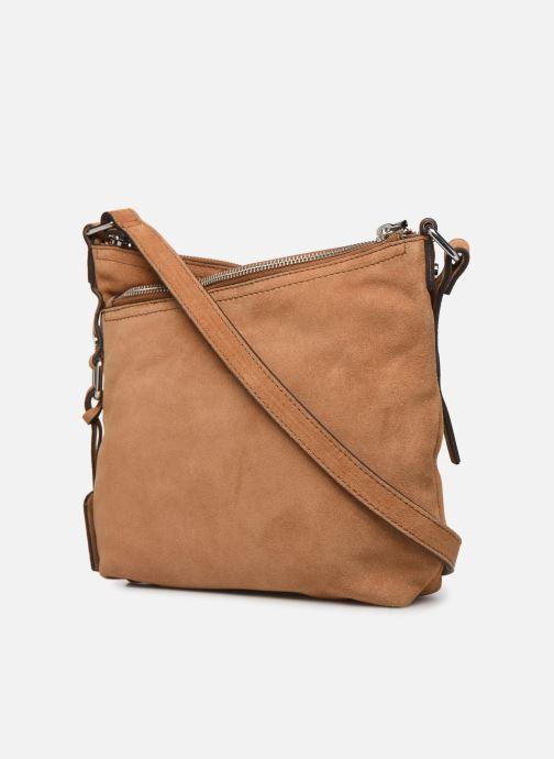 Borse Esprit Heidi leather smllshldb Marrone immagine destra