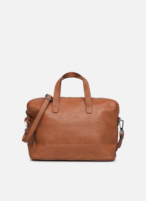 Handbags Esprit Isa working bag Brown front view
