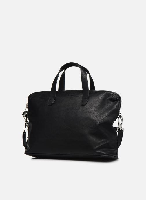 Borse Esprit Isa working bag Nero modello indossato