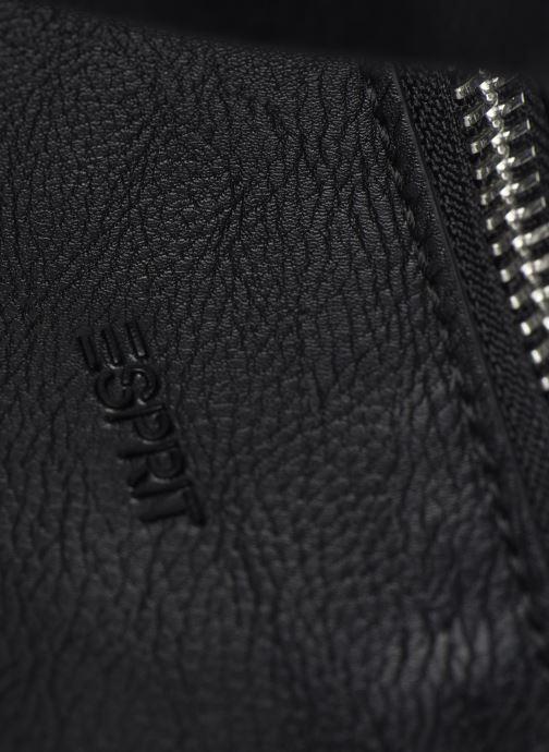 Borse Esprit Isa working bag Nero immagine sinistra