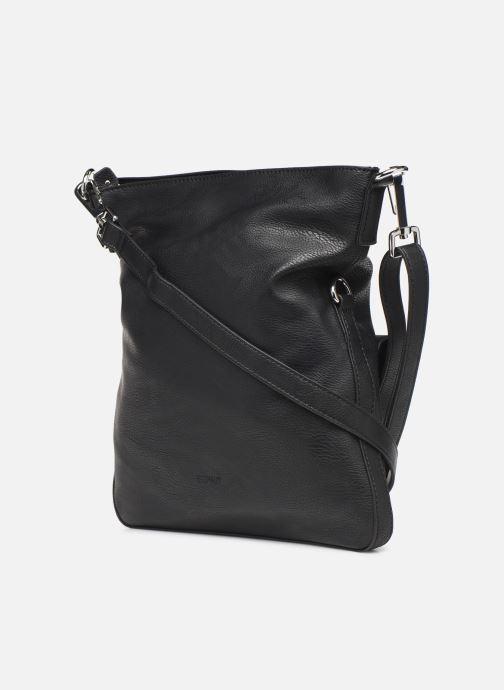 Handbags Esprit Isa medflpovshl Black view from the right