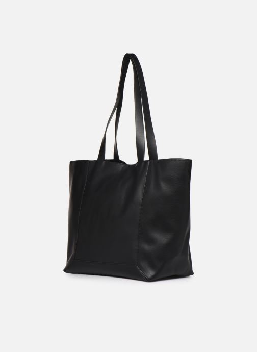 Handbags Esprit Vala shopper Black view from the right