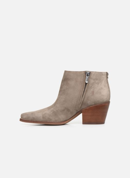 Bottines et boots Sam Edelman Walden Gris vue face