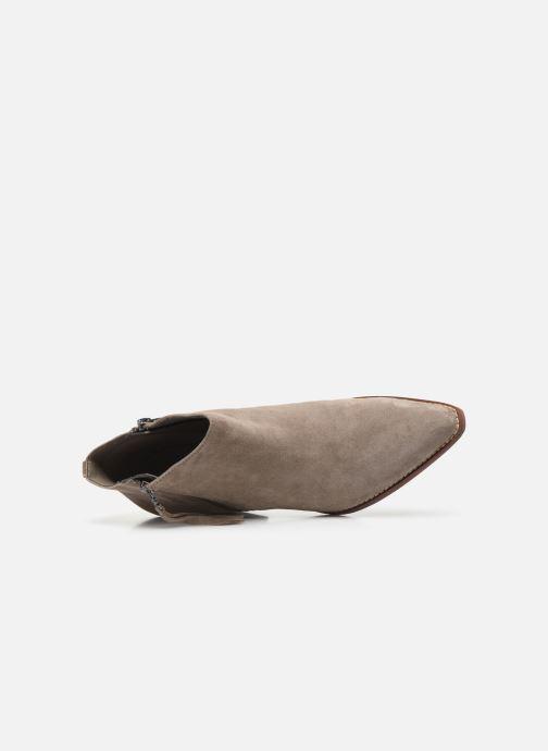 Bottines et boots Sam Edelman Walden Gris vue gauche