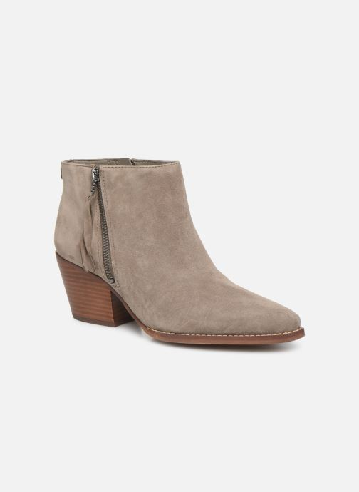 Bottines et boots Sam Edelman Walden Gris vue détail/paire