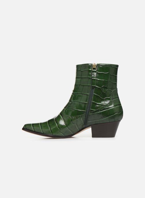 Bottines et boots L.K. Bennett Choral Vert vue face