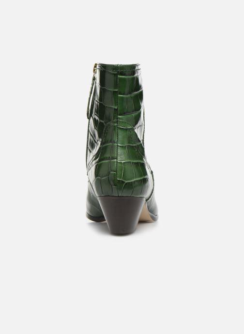 Bottines et boots L.K. Bennett Choral Vert vue droite