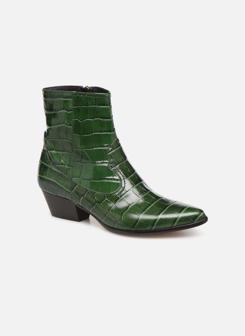 Bottines et boots L.K. Bennett Choral Vert vue détail/paire